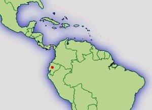 Distribución E.tricolor